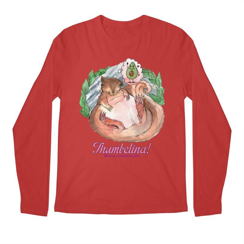 "Clothing - ""Sweet Dreams for Thumbelina"" Men's Longsleeve T-Shirt by Len Hernandez's Artist Shop"