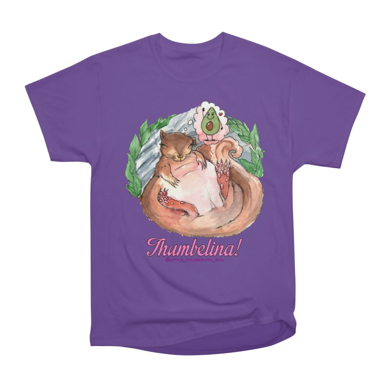 "Clothing - ""Sweet Dreams for Thumbelina"" Men's Heavyweight T-Shirt by Len Hernandez's Artist Shop"