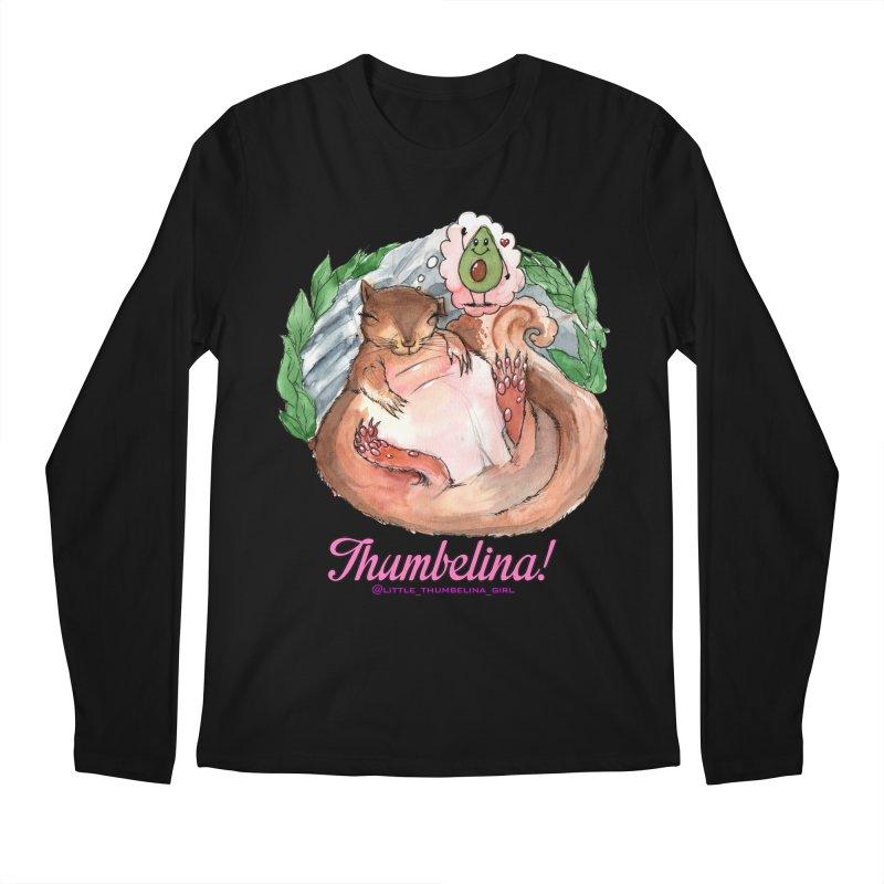 """Clothing - """"Sweet Dreams for Thumbelina"""" Men's Regular Longsleeve T-Shirt by Len Hernandez's Artist Shop"""