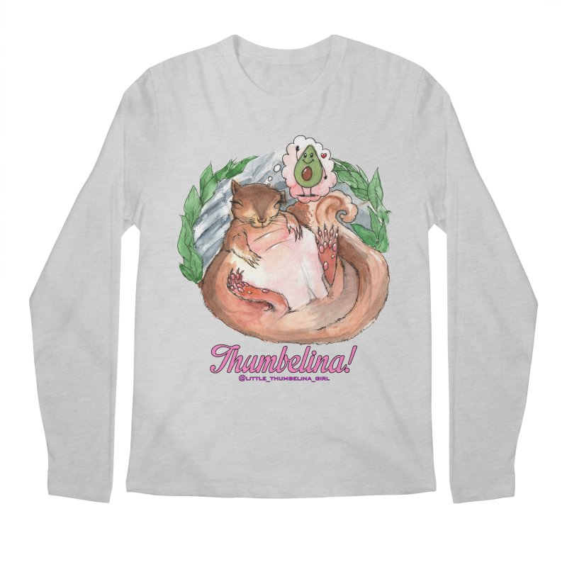 "Clothing - ""Sweet Dreams for Thumbelina"" Men's Regular Longsleeve T-Shirt by Len Hernandez's Artist Shop"