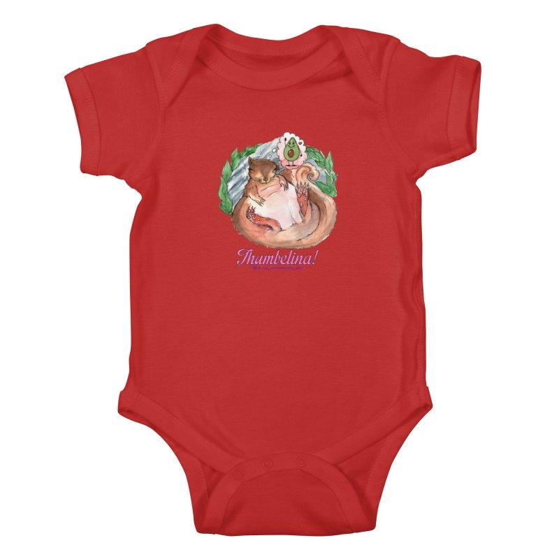 "Clothing - ""Sweet Dreams for Thumbelina"" Kids Baby Bodysuit by Len Hernandez's Artist Shop"