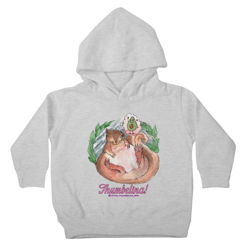 "Clothing - ""Sweet Dreams for Thumbelina"" Kids Toddler Pullover Hoody by Len Hernandez's Artist Shop"