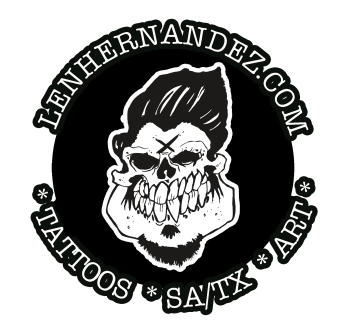 Len Hernandez's Artist Shop Logo