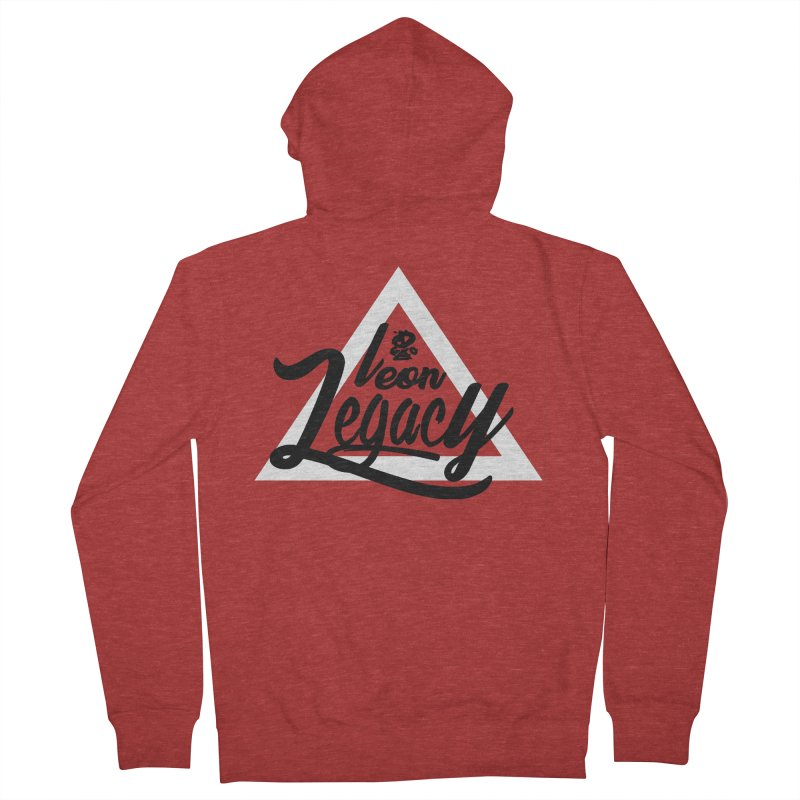 Legacy Collection 1 Men's French Terry Zip-Up Hoody by Leonlegacy's Artist Shop