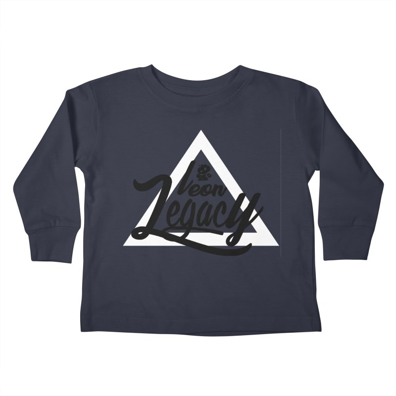Legacy Collection 1 Kids Toddler Longsleeve T-Shirt by Leonlegacy's Artist Shop