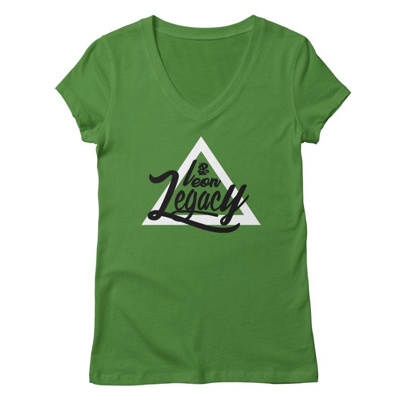 Legacy Collection 1 Women's Regular V-Neck by Leonlegacy's Artist Shop