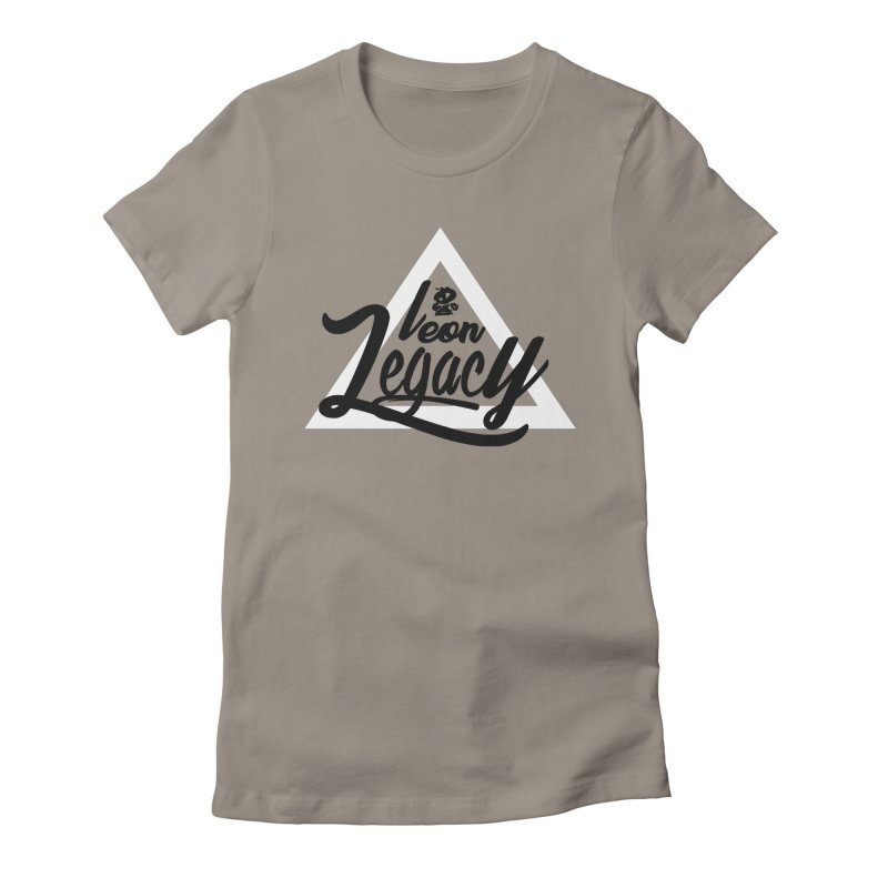 Legacy Collection 1 Women's Fitted T-Shirt by Leonlegacy's Artist Shop