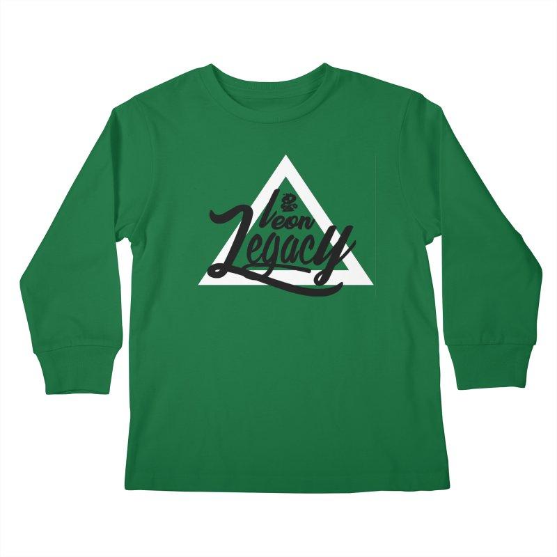 Legacy Collection 1 Kids Longsleeve T-Shirt by Leonlegacy's Artist Shop