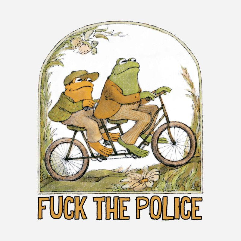 Frog Tha Police by Lesser Key's Artist Shop