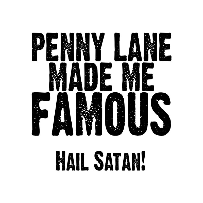 Penny Lane (black) by Lesser Key's Artist Shop