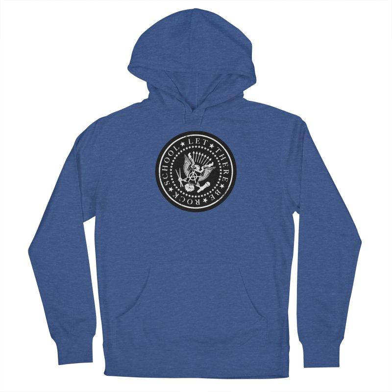 Ramones inspired Rock School Logo Men's Pullover Hoody by LetThereBeRock's Artist Shop