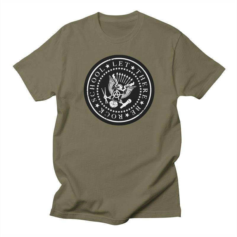 Ramones inspired Rock School Logo Men's T-Shirt by LetThereBeRock's Artist Shop