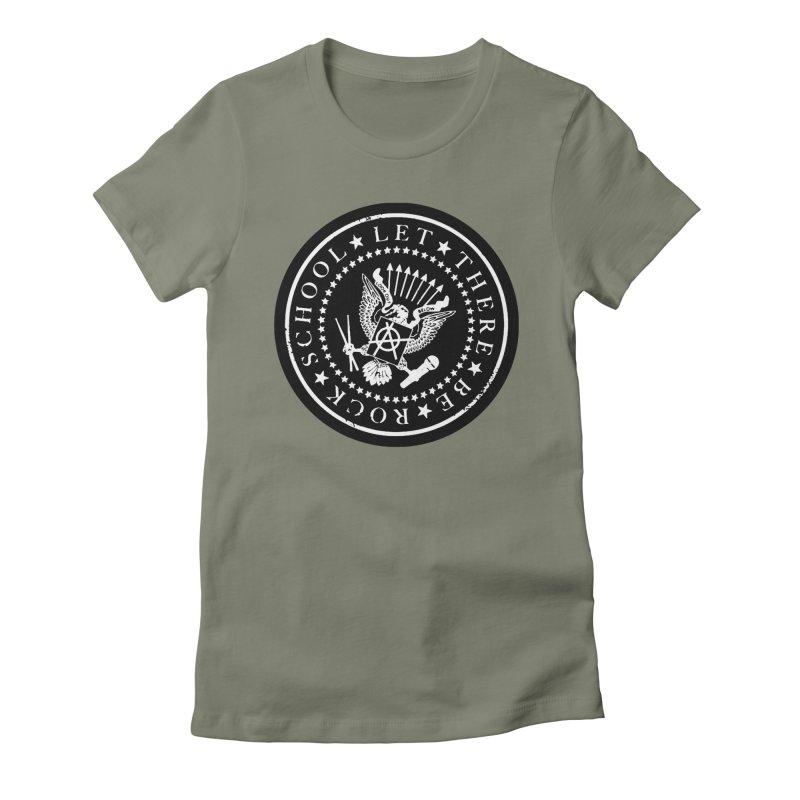 Ramones inspired Rock School Logo Women's T-Shirt by LetThereBeRock's Artist Shop