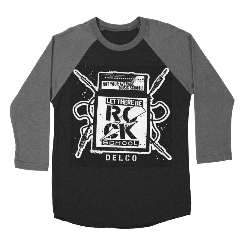 Let There Be Rock School  / DELCO  / Amp Design Women's Baseball Triblend Longsleeve T-Shirt by LetThereBeRock's Artist Shop