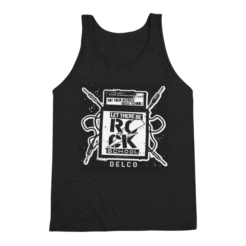 Let There Be Rock School  / DELCO  / Amp Design Men's Triblend Tank by LetThereBeRock's Artist Shop