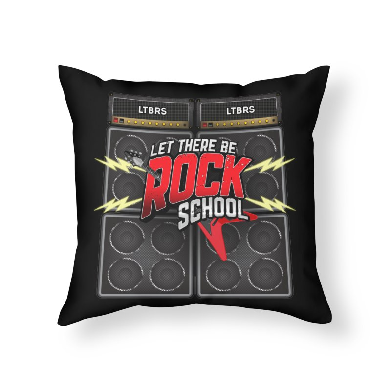 Marshall stacks Home Throw Pillow by LetThereBeRock's Artist Shop