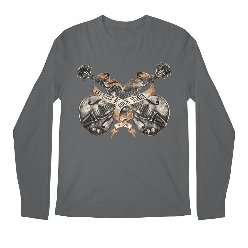 Dueling Guitars! Men's Longsleeve T-Shirt by LetThereBeRock's Artist Shop