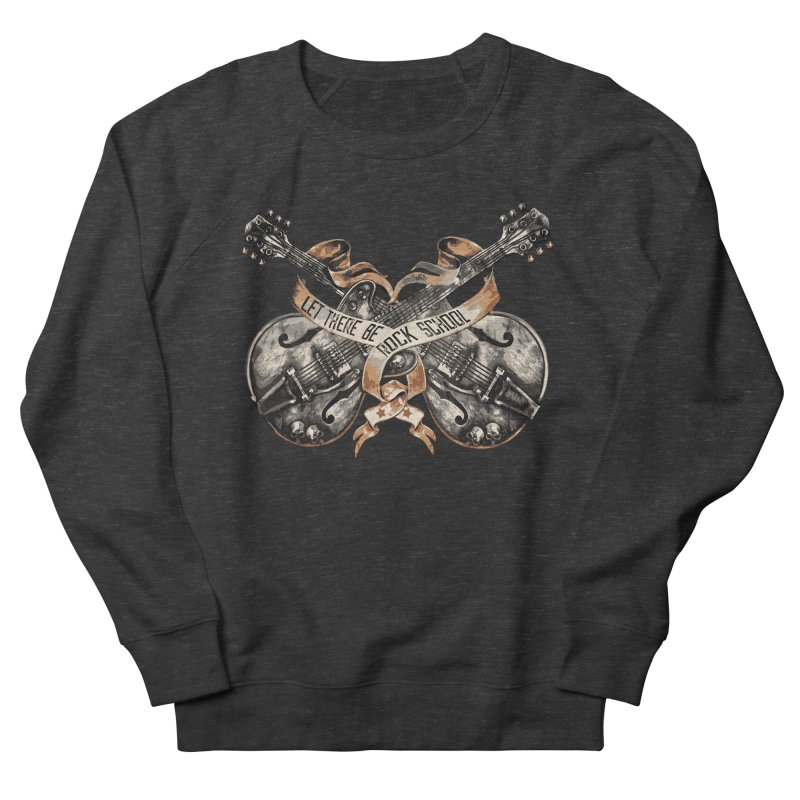 Dueling Guitars! Women's French Terry Sweatshirt by LetThereBeRock's Artist Shop