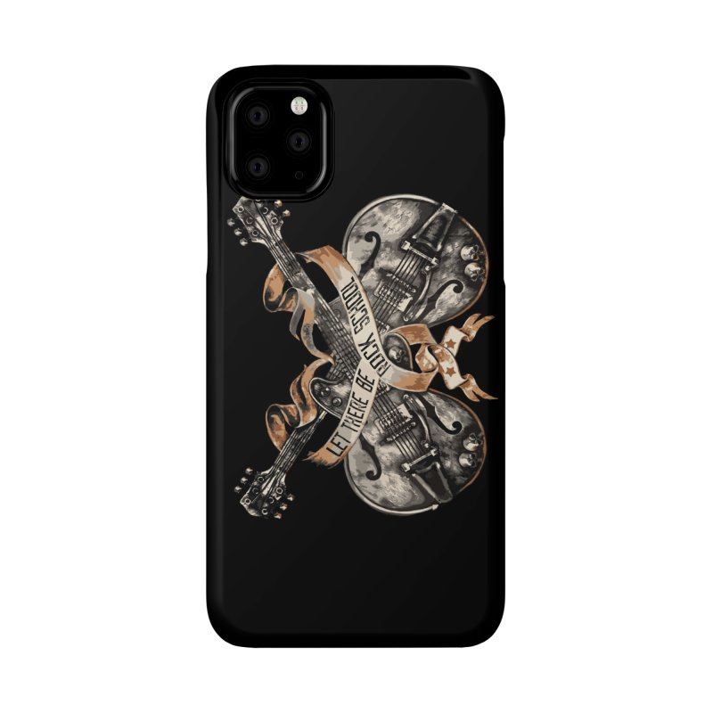 Dueling Guitars! Accessories Phone Case by LetThereBeRock's Artist Shop
