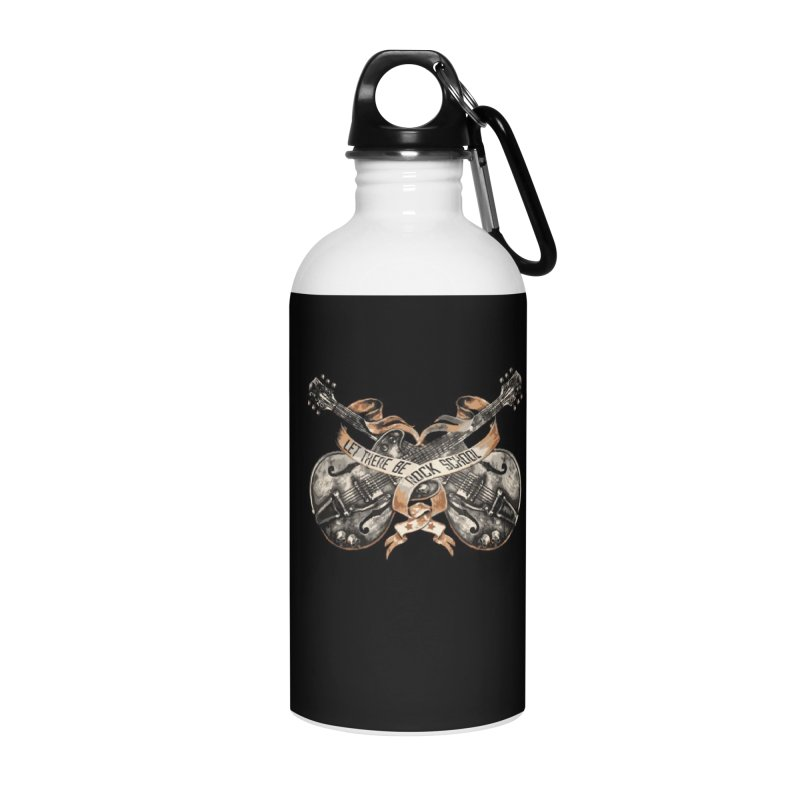 Dueling Guitars! Accessories Water Bottle by LetThereBeRock's Artist Shop