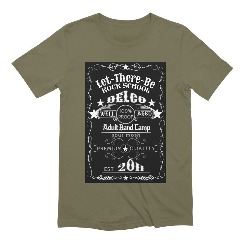 Adult Band Camp - Sunday Funday! Men's Extra Soft T-Shirt by LetThereBeRock's Artist Shop