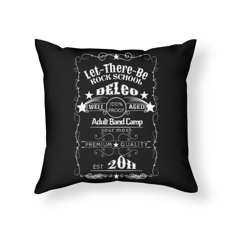 Adult Band Camp - Sunday Funday! Home Throw Pillow by LetThereBeRock's Artist Shop