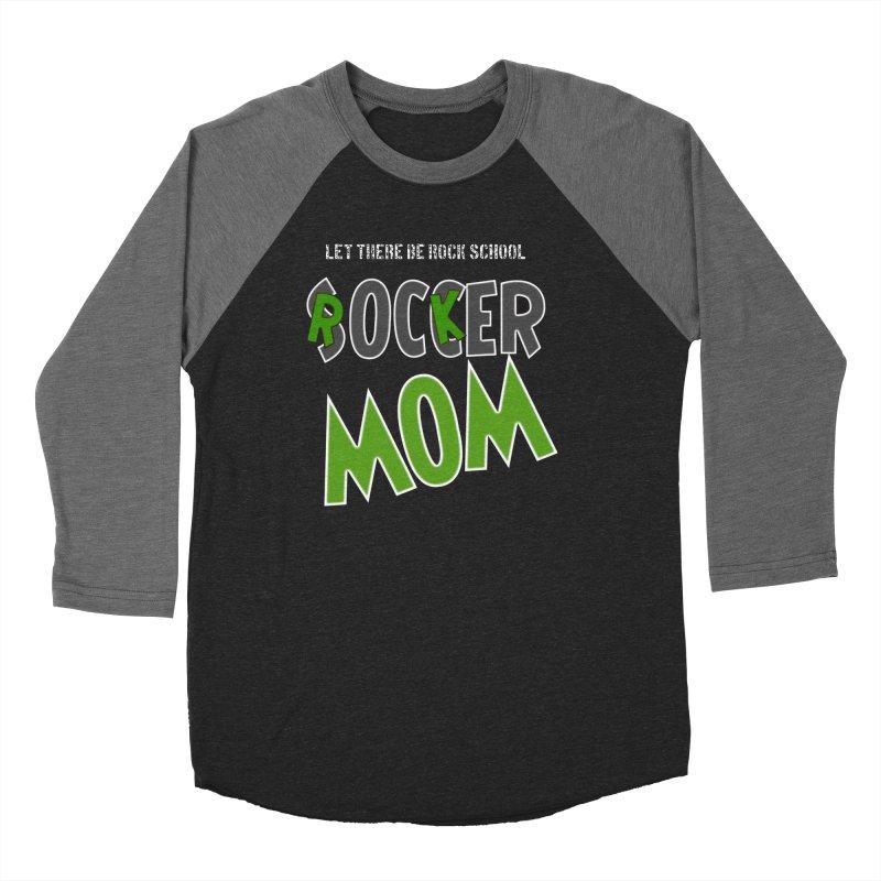 Moms ROCK! Women's Baseball Triblend Longsleeve T-Shirt by LetThereBeRock's Artist Shop