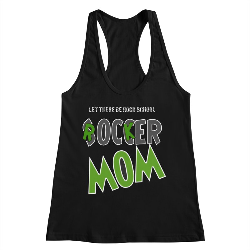 Moms ROCK! Women's Racerback Tank by LetThereBeRock's Artist Shop