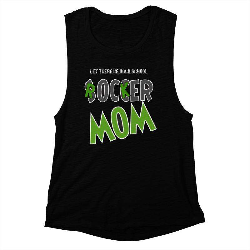 Moms ROCK! Women's Muscle Tank by LetThereBeRock's Artist Shop