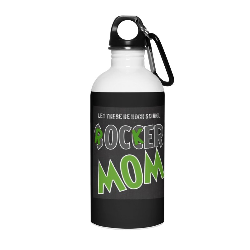 Moms ROCK! Accessories Water Bottle by LetThereBeRock's Artist Shop
