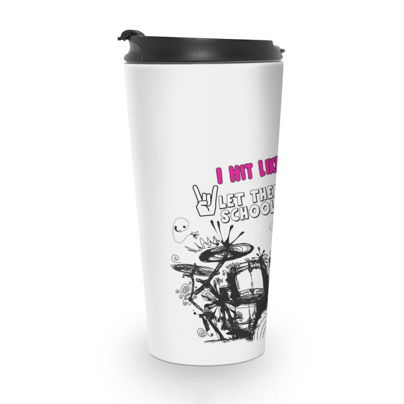 Girl Drummers ROCK! Accessories Mug by LetThereBeRock's Artist Shop