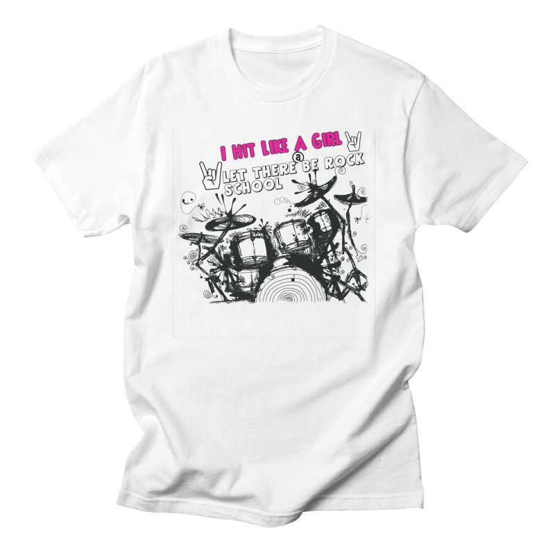 Girl Drummers ROCK! Women's T-Shirt by LetThereBeRock's Artist Shop