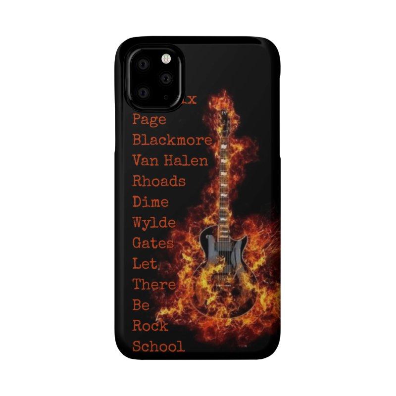 Guitar Godz Accessories Phone Case by LetThereBeRock's Artist Shop
