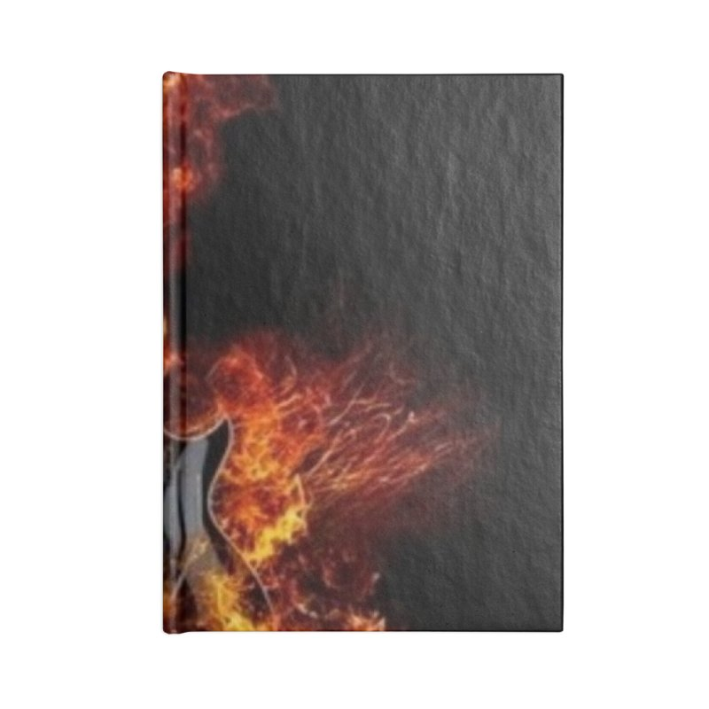 Guitar Godz Accessories Blank Journal Notebook by LetThereBeRock's Artist Shop