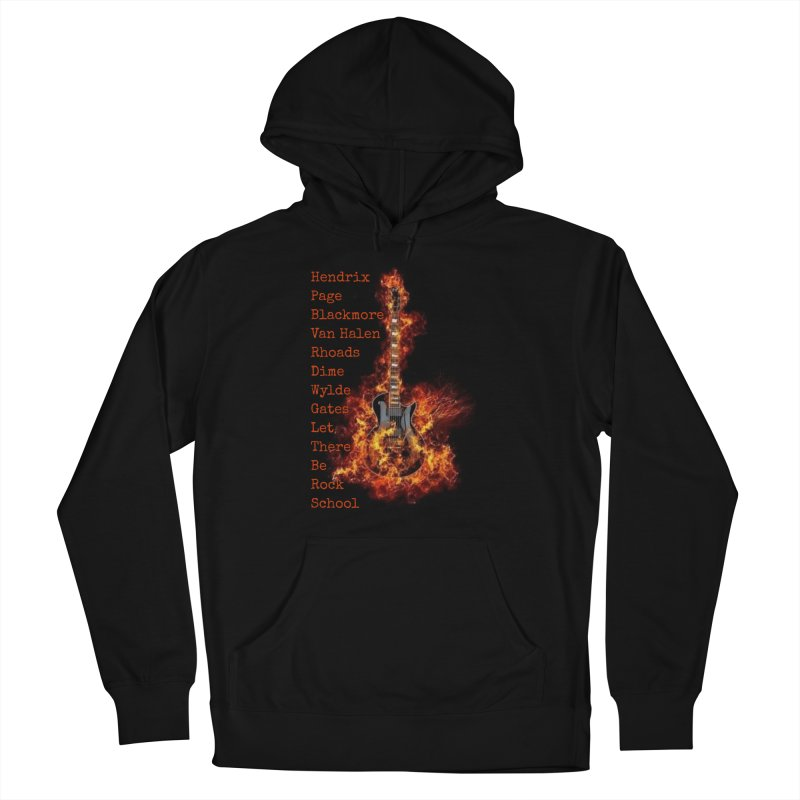 Guitar Godz Women's French Terry Pullover Hoody by LetThereBeRock's Artist Shop