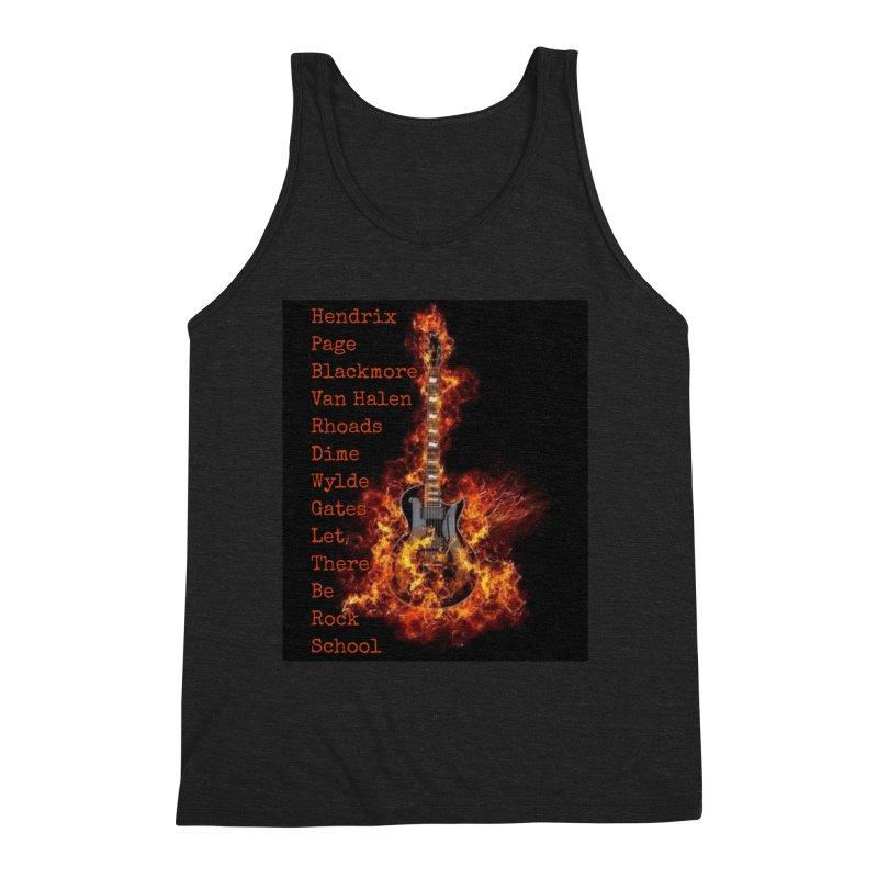 Guitar Godz Men's Triblend Tank by LetThereBeRock's Artist Shop