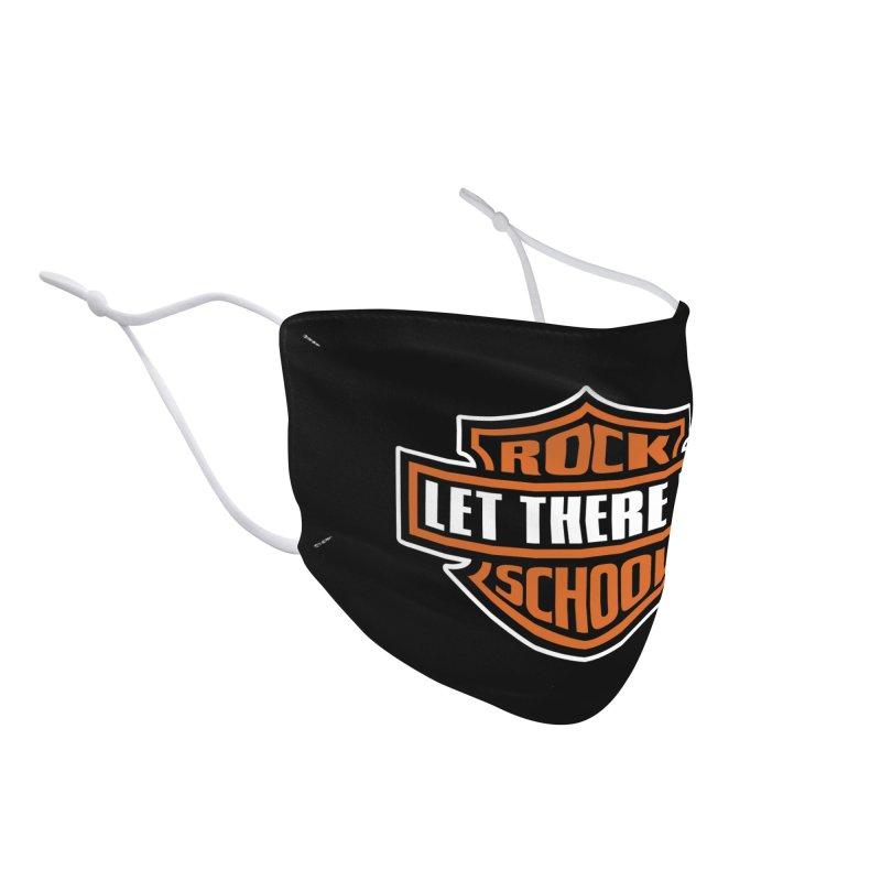 Harley inspired Rock School Logo Accessories Face Mask by LetThereBeRock's Artist Shop