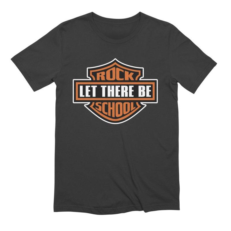 Harley inspired Rock School Logo Men's T-Shirt by LetThereBeRock's Artist Shop