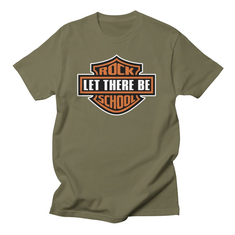 Harley inspired Rock School Logo Women's Regular Unisex T-Shirt by LetThereBeRock's Artist Shop