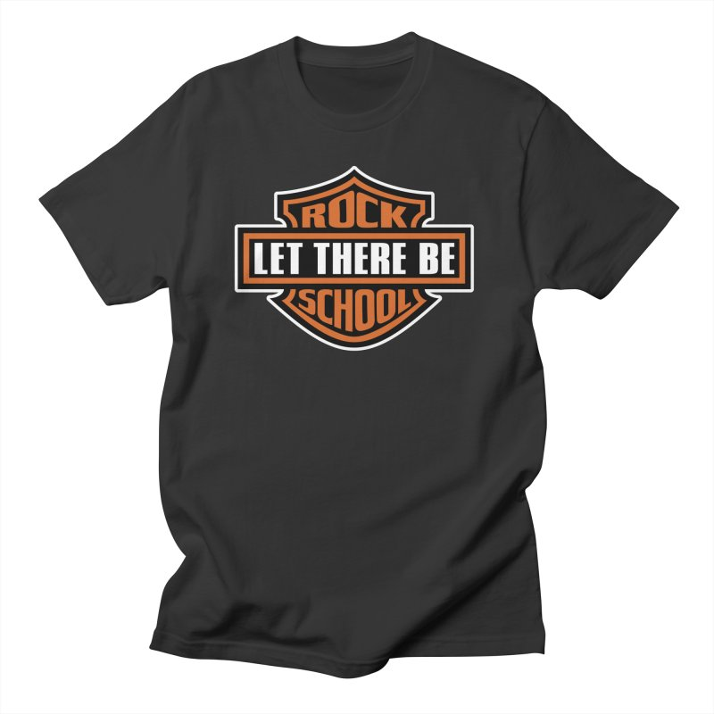 Harley inspired Rock School Logo Men's Regular T-Shirt by LetThereBeRock's Artist Shop