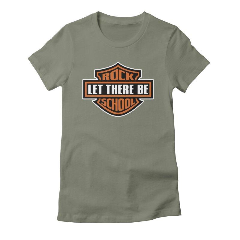 Harley inspired Rock School Logo Women's T-Shirt by LetThereBeRock's Artist Shop