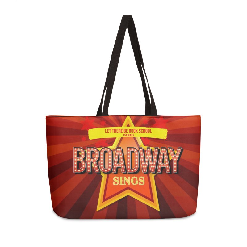 Broadway Sings! Accessories Bag by LetThereBeRock's Artist Shop