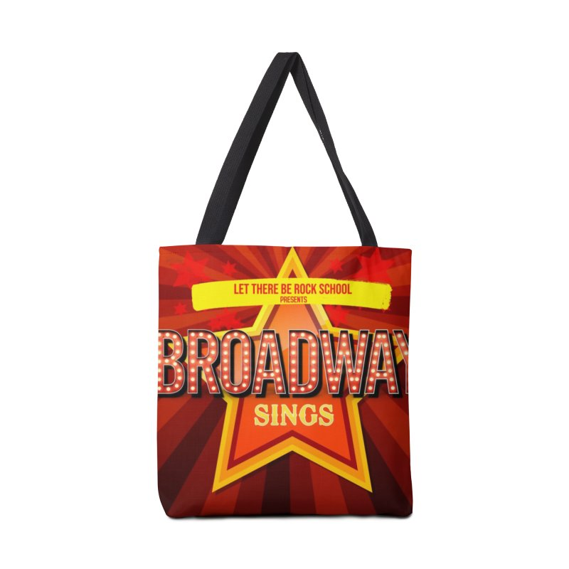 Broadway Sings! Accessories Tote Bag Bag by LetThereBeRock's Artist Shop