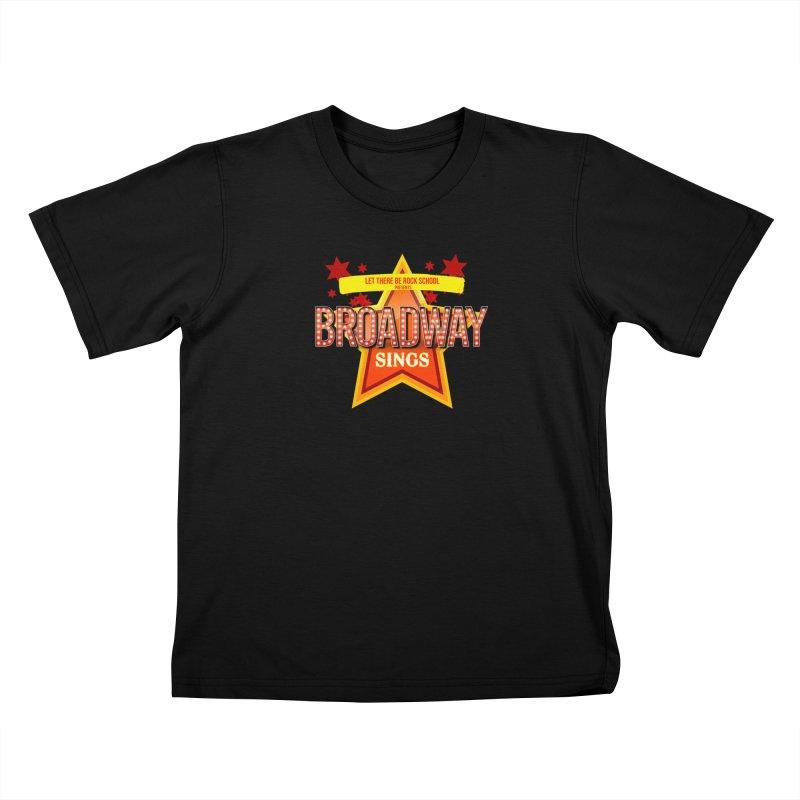 Broadway Sings! Kids T-Shirt by LetThereBeRock's Artist Shop