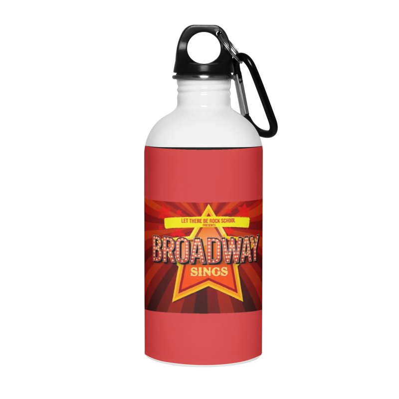 Broadway Sings! Accessories Water Bottle by LetThereBeRock's Artist Shop