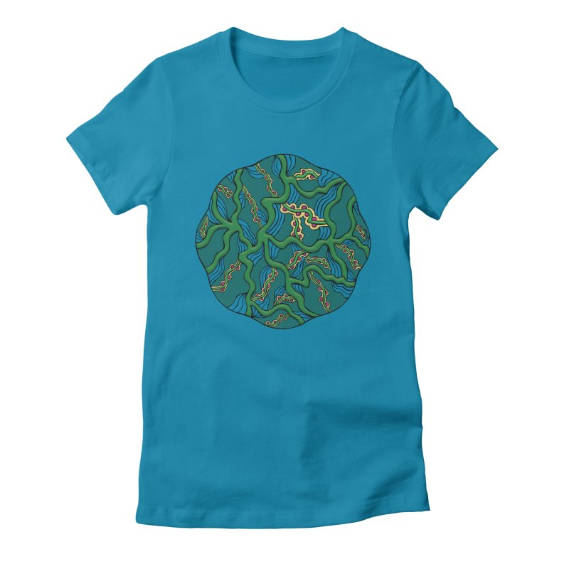 Life Women's Fitted T-Shirt by Levitation