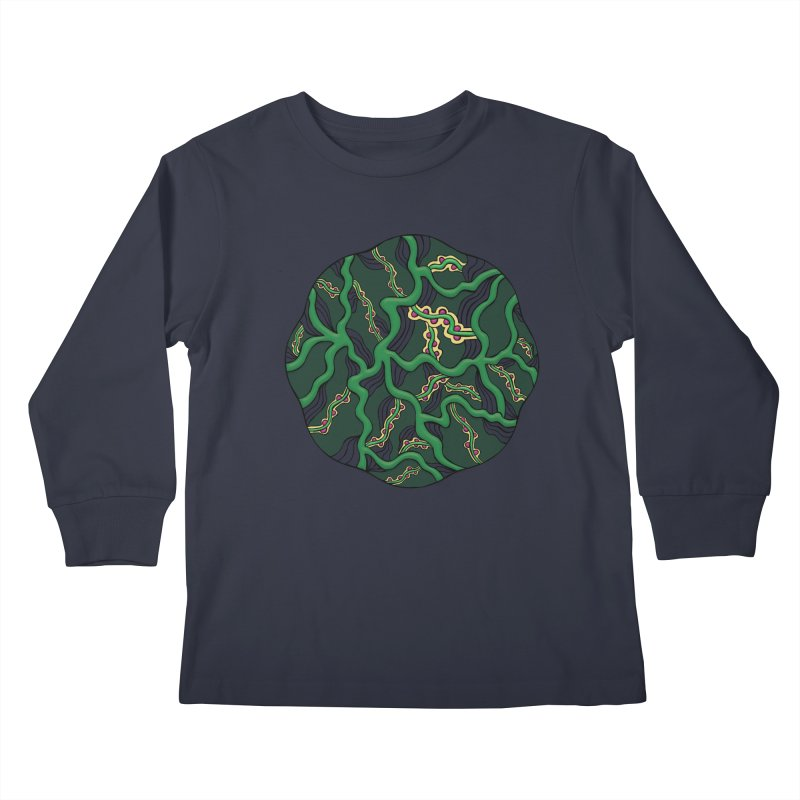 Life Kids Longsleeve T-Shirt by Levitation