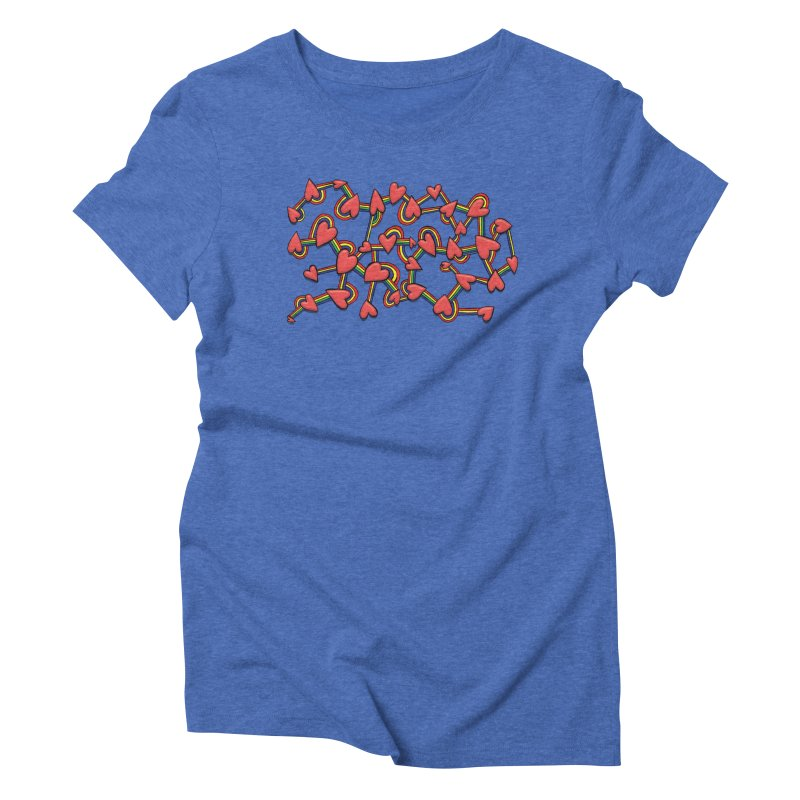 So Much Love Women's Triblend T-Shirt by Levitation