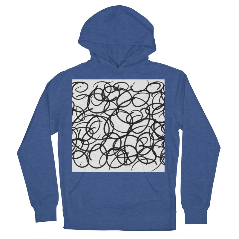 Circular Men's French Terry Pullover Hoody by Lidflutters
