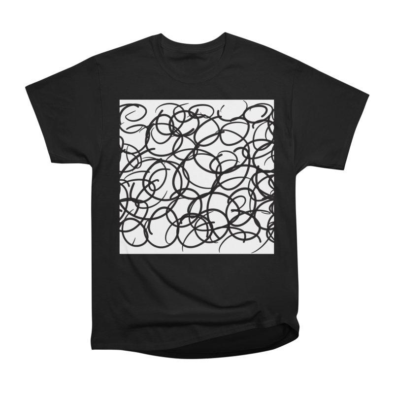 Circular Men's Heavyweight T-Shirt by Lidflutters